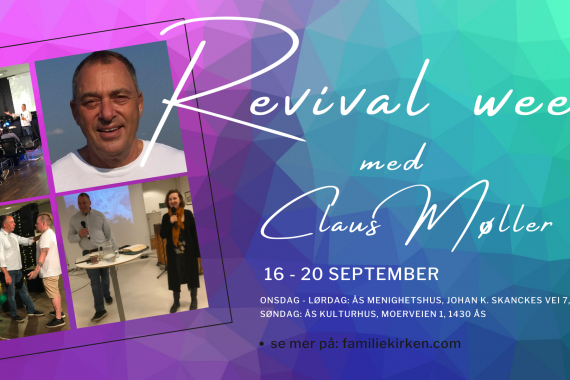 Revival week! med Claus Møller i september!